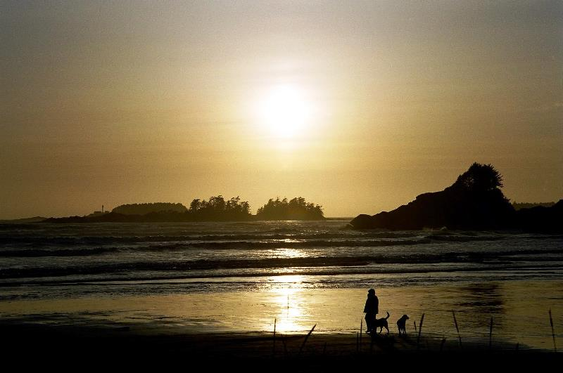Tofino, Sonnenuntergang
