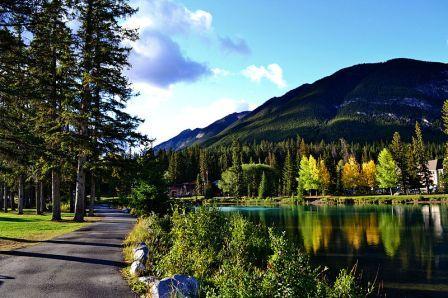 Banff Wanderweg