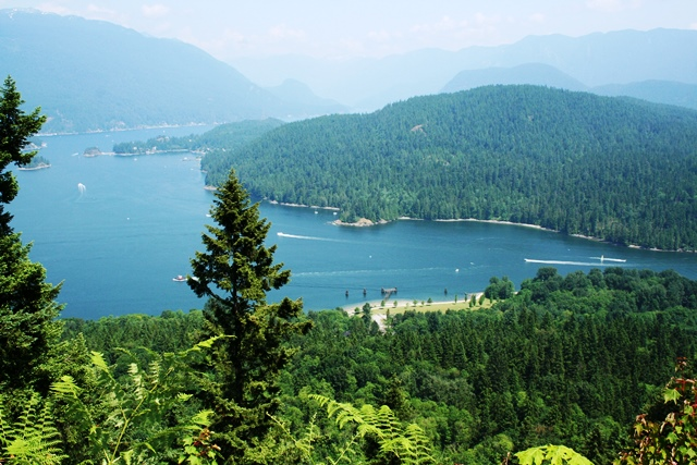 Burnaby Mountain Inlet