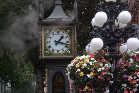 Steamclock in Gastown, Vancouver