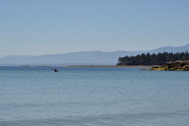 Hornby Island - Kajak