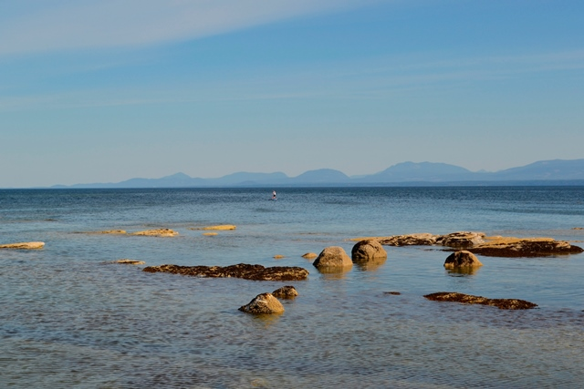 Hornby Island  - Sandpiper Beach bei Ebbe