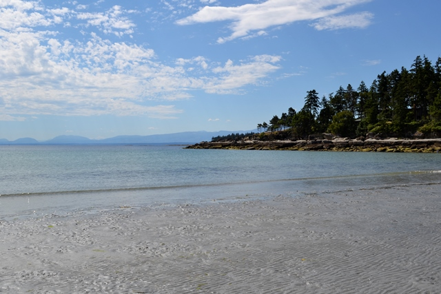 Big Tribune Beach, Hornby Island