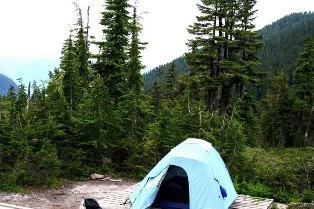 Camping Elfin Lakes