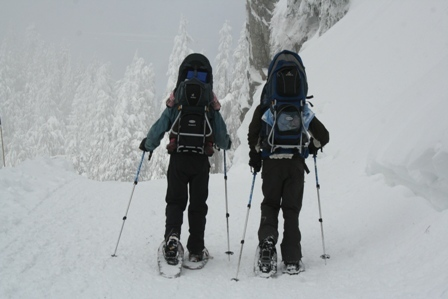 Snowshoeing, Grouse Mountain