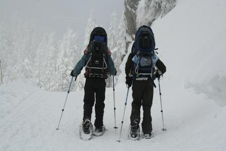 Snowshoeing, Grouse Mountain