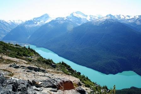Whistler Mountain Ausblick