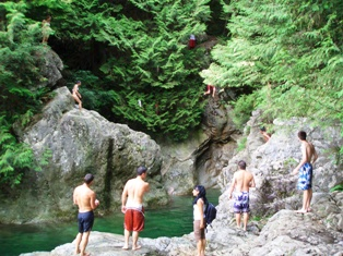 Lynn Canyon Pool