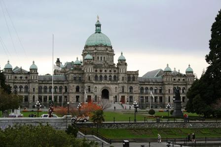 Victoria, Parlamentgebaeude