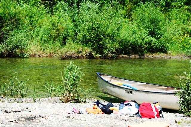 Widgeon Creek Kanufahren