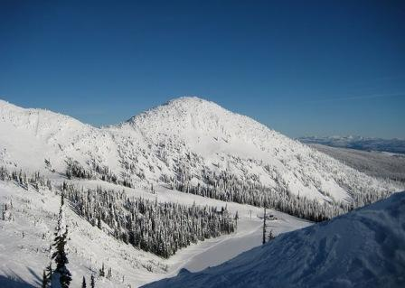 Big White Skigebiet.