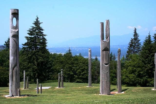 Burnaby Mountain Skulpturen