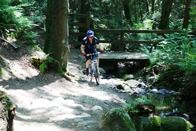 Burnaby Mountain Radfahrer