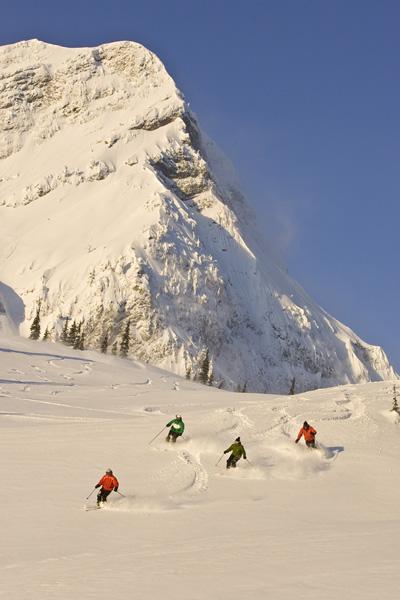 Skifahren in Fernie, BC