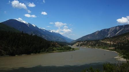 Fraser und Thompson River, BC