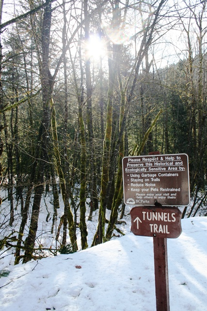 Tunnels Trail