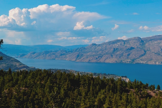 Okanagan Lake, Summerland