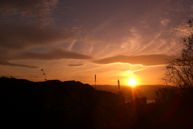 Okanagan, Sonnenuntergang