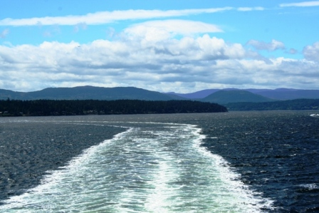 Fährfahrt von Salt Spring Island