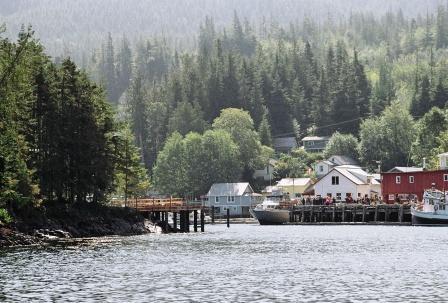 Telegraph Cove, Pier