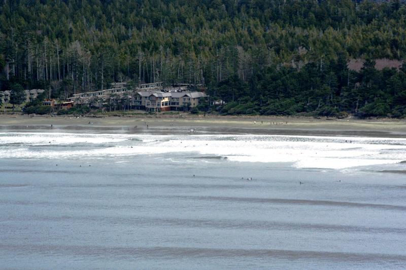 Tofino, Blick auf Strand