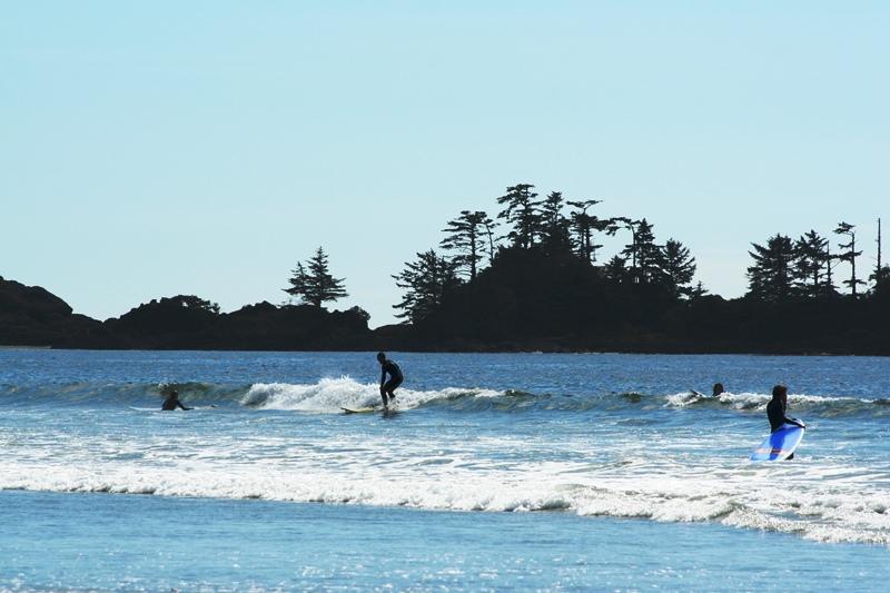 Tofino Surfen