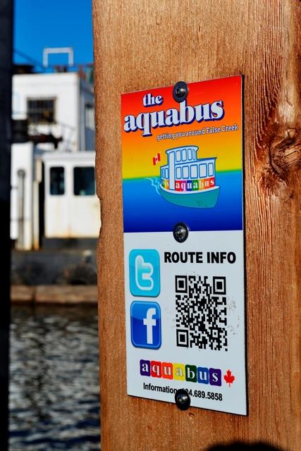 Granville Island - Aquabus Haltestelle