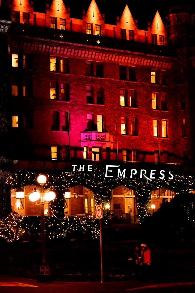 Victoria - Empress Hotel zur Weihnachtszeit