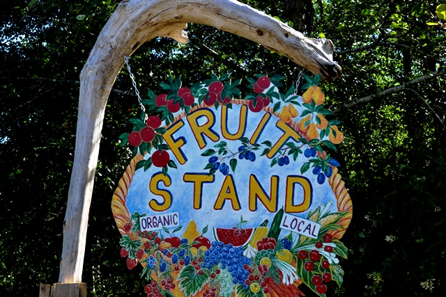 Hornby Island Fruit Stand