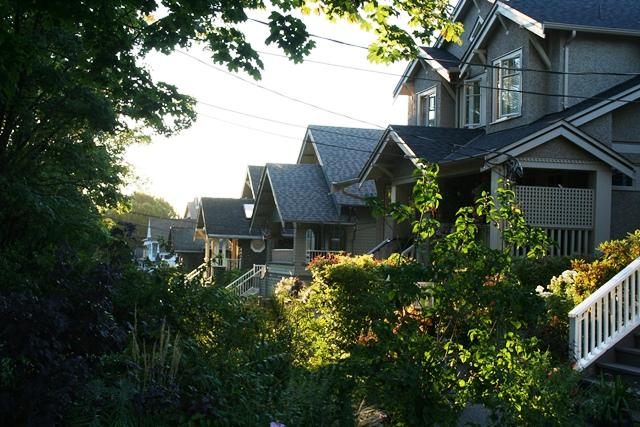 Kitsilano Häuser