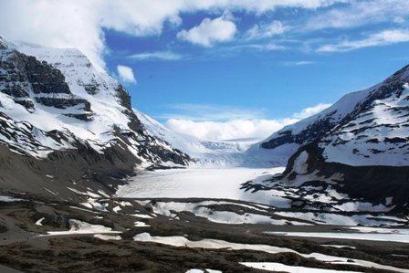 Athabasca Gletscher, Rocky Mountains