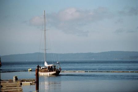 Telegraph Cove Segelboot