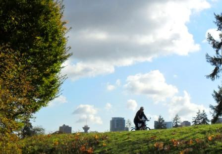 Radfahren Stanley Park